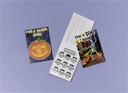 Halloween Activity Pad Favors