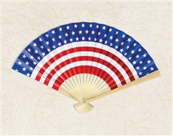 Patriotic Paper Fan | Party Supplies