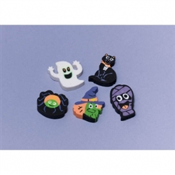 Halloween Character Eraser Assortment Favors