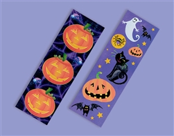 Halloween Fun Printed Sticker Strip Favors