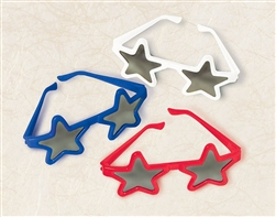 Patriotic Star Sunglasses | Party Supplies