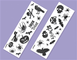 Halloween Glitter Sticker Strip Favors