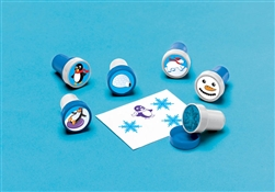 Winter Fun Plastic Stamper Set | Party Supplies