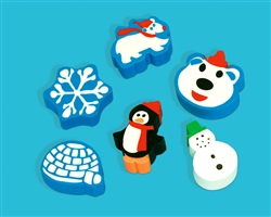Winter Fun Eraser | Party Supplies