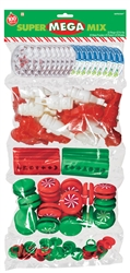 Christmas Super Mega Mix Plastic Favors | Party Favors