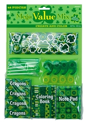 St. Patrick's Day Create & Color Mega Value Mix Favor | party supplies