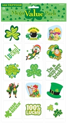 St. Patrick's Day Tattoo MVP Favors | party supplies