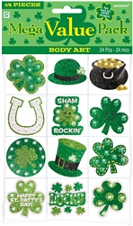 St. Patrick's Day Body Art MVP Favors | party supplies