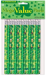 St. Patrick's Day Pencil MVP Favors | party supplies