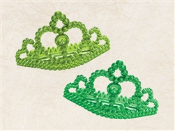 St. Patrick's Day Plastic Tiara | party supplies