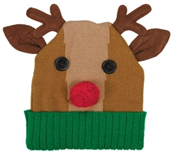 Reindeer Knit Hat | Party Supplies