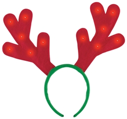 Christmas Light-Up Antlers | Party Supplies