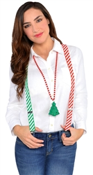 Christmas Suspenders | Party Supplies