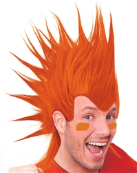 Orange Mohawk Wig | Party Supplies
