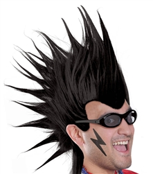 Black Mohawk Wig | Party Supplies