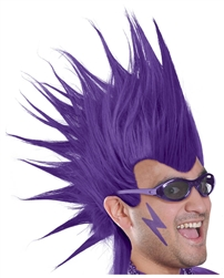Purple Mohawk Wig | Party Supplies
