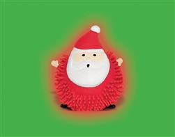 Light-Up Santa Puffer Ball Bulk Favor | Party Supplies
