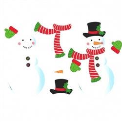 Snow Man Craft Kit | Party Supplies