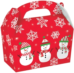 Snowman Gable Boxes | Party Supplies