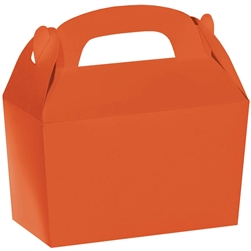 Orange Gable Box | Party Supplies