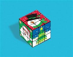 Christmas Puzzle Cube | Party Supplies