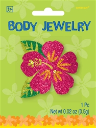 Summer Glitter Body Jewelry | Luau Party Supplies