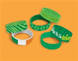 St. Patrick's Day Silicone Cuff Band | party supplies