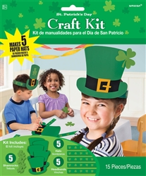 St. Patrick's Day Top Hat Craft Kit | Leprechaun Hat