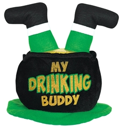 Lucky Leprechaun Pot Hat | party supplies