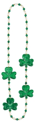 Shamrock & Pearls Necklace | party supplies