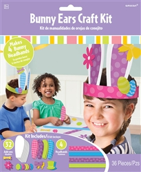 Bunny Ears Craft Kit | Party Supplies