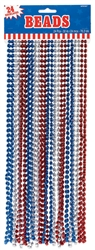 Patriotic Metallic Bead | Party Supplies