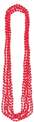 Red Metallic Necklaces | Party Supplies
