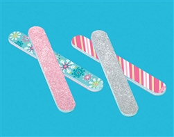 Christmas Glitter Nail File | Party Supplies