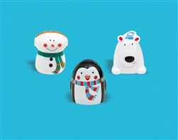 Winter Plastic Finger Puppet | Party Supplies