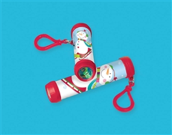 Winter Plastic Kaleidoscope Keychain | Party Supplies