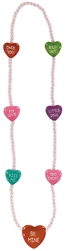 Candy Heart Necklace | Party Supplies