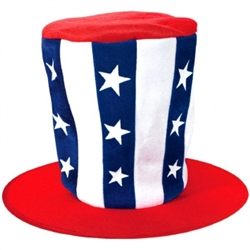 Patriotic Oversized Hat | Party Supplies