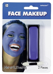 Blue Face Makeup