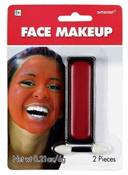 Red Face Makeup