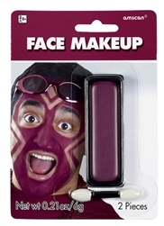 Burgundy Face Makeup