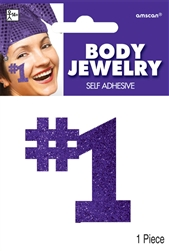 Purple Body Jewelry | Party Supplies