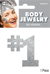 Silver Body Jewelry | Party Supplies