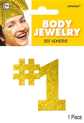 Gold Body Jewelry | Party Supplies