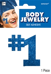 Blue Body Jewelry | Party Supplies