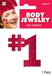 Red Body Jewelry | Party Supplies
