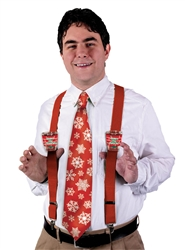 Christmas Shot Glass Suspenders | Party Supplies