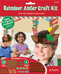 Reindeer Antler Craft Kit | Party Supplies