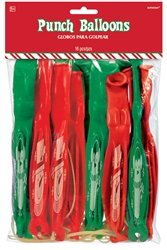 Christmas Punch Balloon | Party Supplies