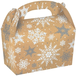 Kraft Large Gable Boxes | Party Supplies